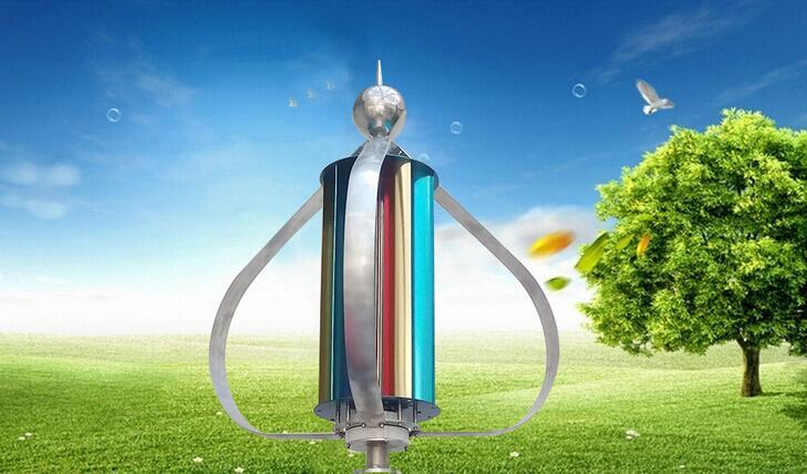 Вертикальный ветрогенератор  100Вт