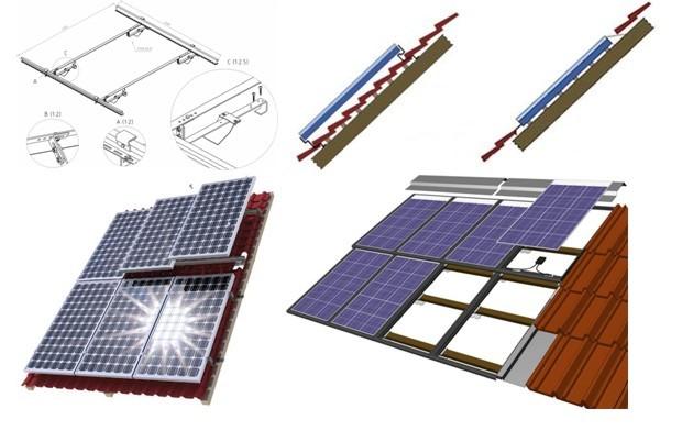 Крепление солнечных модулей
