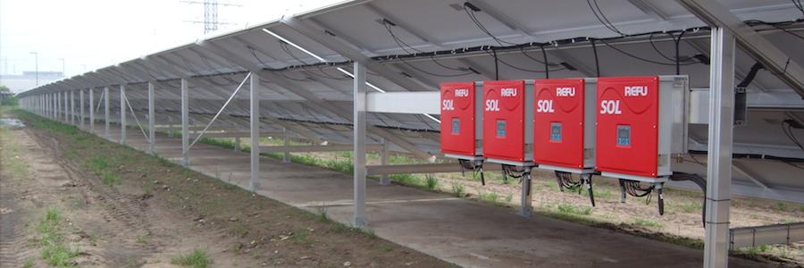 Солнечная электростанция Refusol